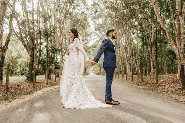 First Look Wedding Photoshoots: What Are They & Should We Have One?