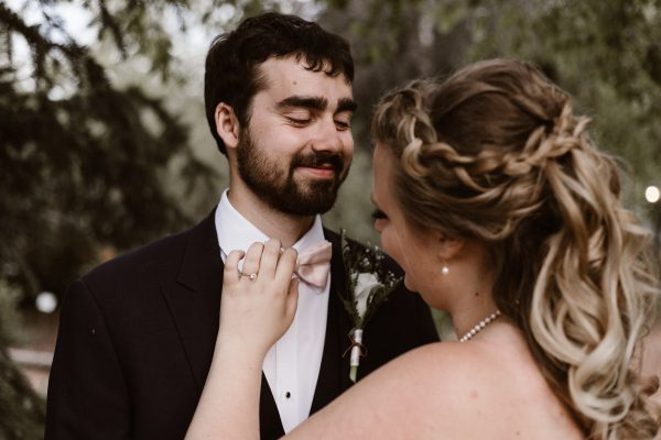 Why to Take a First Look Photo at Your Wedding